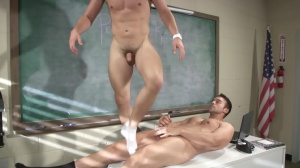 Hazing Bust - Rocco Reed with Joey Cooper ass invasion