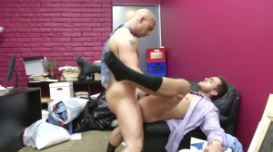 Law And Hoarder - John Magnum & Bryce Star anal Hook up