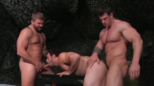 journey Of Duty - Zeb Atlas with Colby Jansen anal slam
