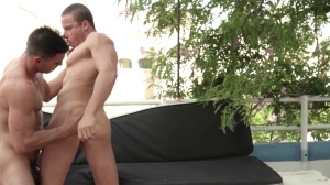 men In Ibiza - Paddy O'Brian with Tony Gys ass dril