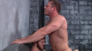First Time Bottom - Christian Wilde and Joey Carter ass screw