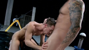 The Gaytrix - Colby Jansen and Darius Ferdynand anal Love
