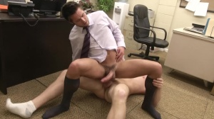 The Office prostitute three - Connor Maguire & Mike De Marko butthole Hump