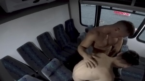 men In Public 28 - Bus dril - oral enjoyment job Hook up