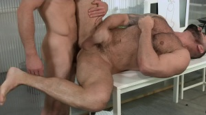 Defiance - Paddy O'Brian with Victor D'Angelo arse stab