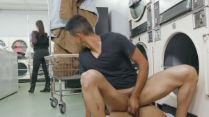 fellows In Public 35: Fluff N Fold - bareback Scene