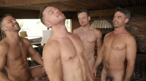 Deacon's raw group-sex - anal movie