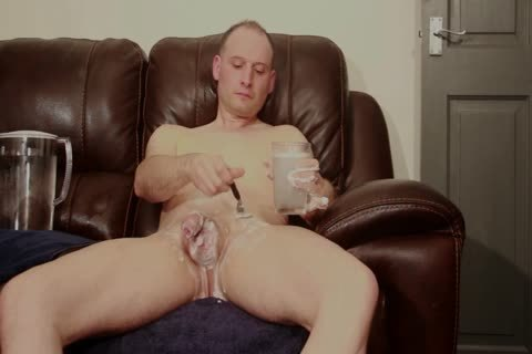 SOFA bare chap SHAVES tasty SOAPY jerk off cum