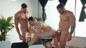 Rivals - Shane Jackson and Parker Rowan ass Hook up