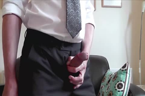 A cute non-professional handjob By Himself At Home