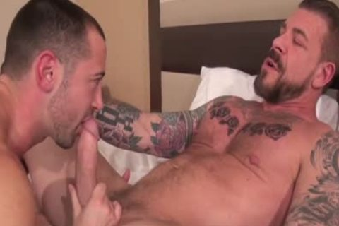 Rocco Steele nail Donnie Dean (unprotected)
