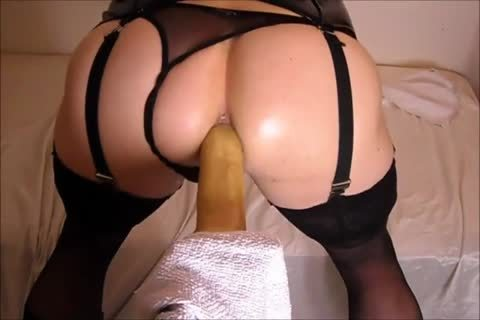pounding My booty With A fake penis while In underware