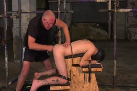 delightsome Sub twink tied Up For Very unfathomable butthole Play