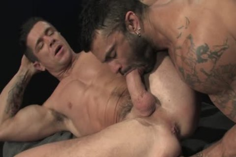 Rogan Richards pokes Trenton Ducati