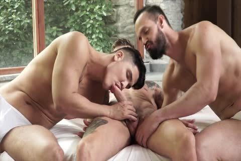 Double bare dick - Geordie Jackson Apolo Fire & Andy Onassis