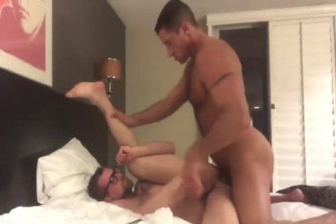 Nick Capra With Jay Austin unprotected