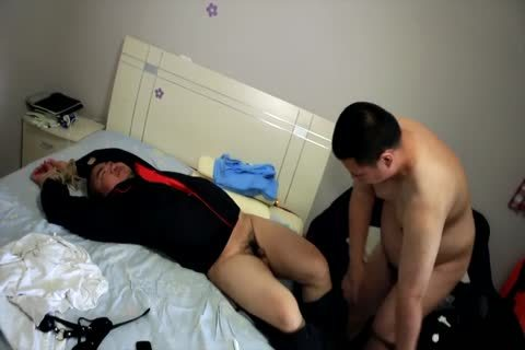 wild asian Bear From Beijing - The Plumber HD Version-(No Mask)