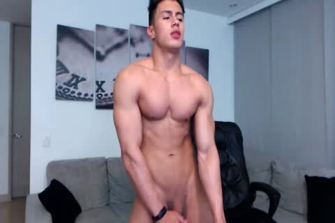 Colombian Camboy ass Show