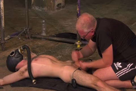 Skinny young homosexual Jacob Daniels fastened And Used By lustful dominant
