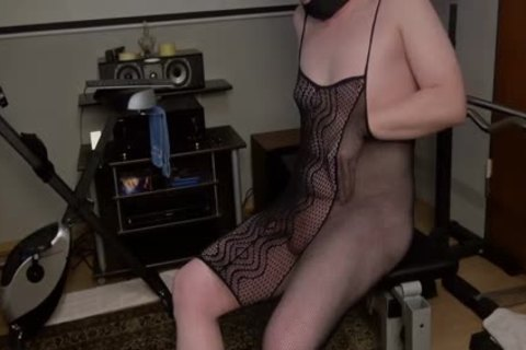 Full hairless 1-three concupiscent In Suspenders And Open Bra lingerie