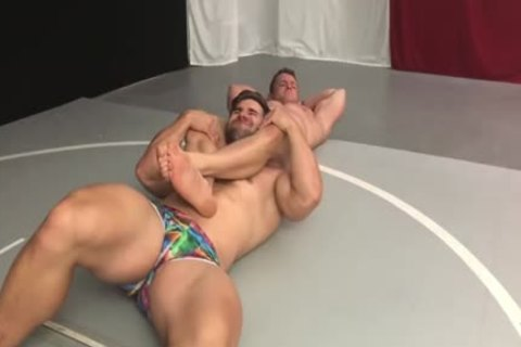 Muscle Hunks Wrestling Some greater quantity