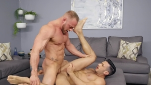 Sean Cody - Brock alongside tattooed Manny bareback 69