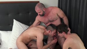 Family Dick - Athletic Bishop Angus & Maxx Monroe shared scene