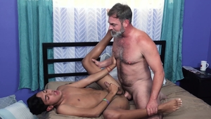 FamilyDick - Young Kristofer Weston hard threesome