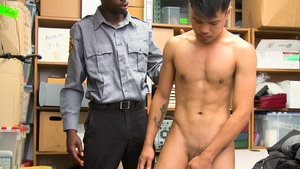 YoungPerps.com - Officer Drake Magnum playing with John Rene