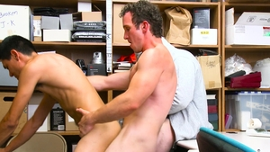 YoungPerps - Greg Mckeon in mask threesome in public