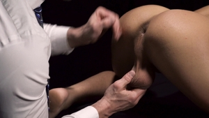 Missionary Boys: Thick driver Elder Brier closeup blindfolded
