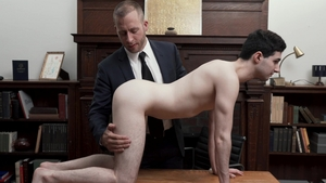 Missionary Boys: Perfect Elder Hult in underwear bare tied up