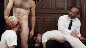 MissionaryBoys - Blindfolded and muscle escort Elder Clarke