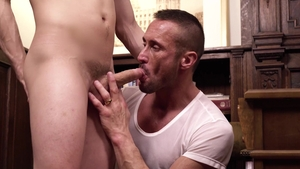MissionaryBoys: Elder Addison hard tug job sex scene