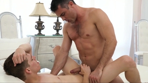 MissionaryBoys - Lustful Zach Brenton gets rough nailing