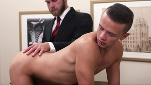 MissionaryBoys.com - Elder Land wearing panties sucking penis