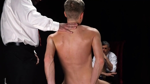 Missionary Boys: Couple Elder Garrett plowed by penis stud