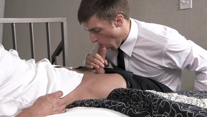 BrotherCrush - Harlen Quindel feet licking scene