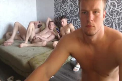 Sexyrussianboys Foursome stroking