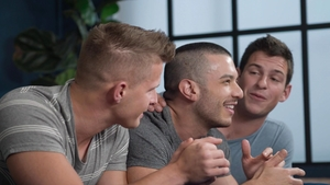 SeanCody: Latin Manny together with shaved Archie deepthroat