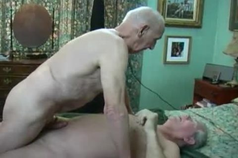 Two old guys Making Love