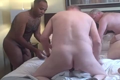 4 older older boyz Play In A Hotel Room dark Daddy older man