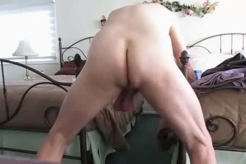 grandad's Low Hangers. daddy Balls Swinging Back And Forth!