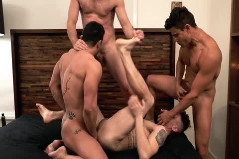 Asher Hawk Services Three Rock-Hard bare penises