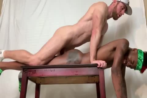 White Muscle Bro Owns darksome twink booty