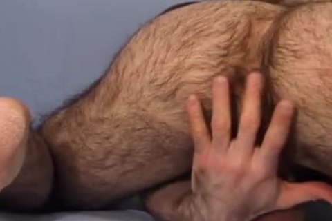 Very hairy guy Brad Jerks And Cums