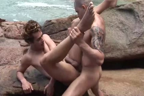 encounter A nasty fellow At The Beach And fuck His butthole