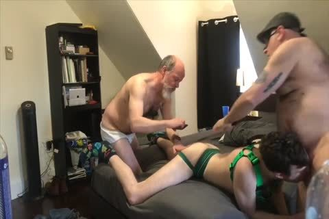 bunch-sex - 4 Top Dads Use youthful hairy aperture: blowjob-BB-HJ-SEEDING