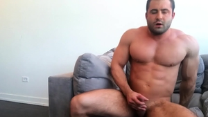 SeanCody - Fucking hard and black haired american bear Reese