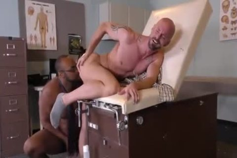 giant darksome Doctor pounds delicious White dude